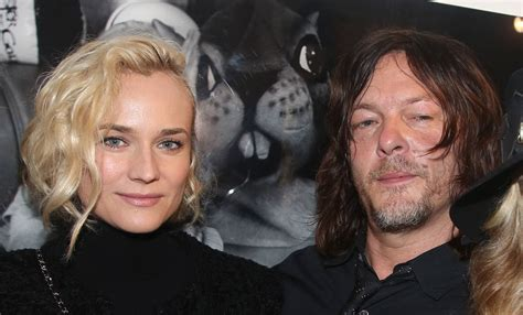 does norman reedus have a girlfriend potential new couple alert norman reedus and diane kruger