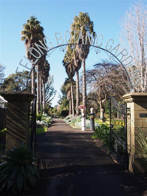 Garden Arch Geelong Geelong Botanic Gardens Melbourne