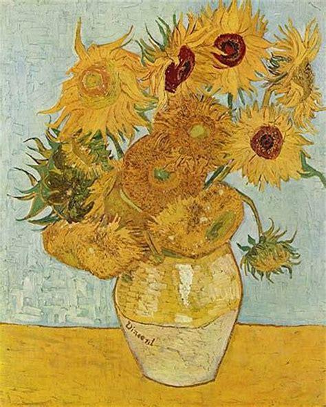 stilleven bloemen van gogh quot stilleben mit sonnenblumen quot von vincent van gogh