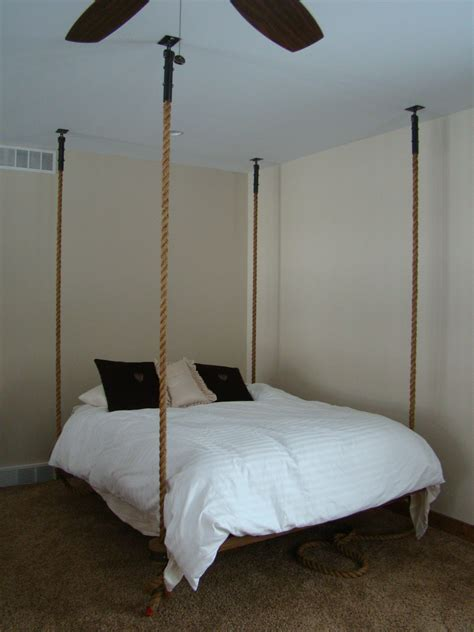 ceiling bed stunning bed hanging from ceiling 55 for your apartment