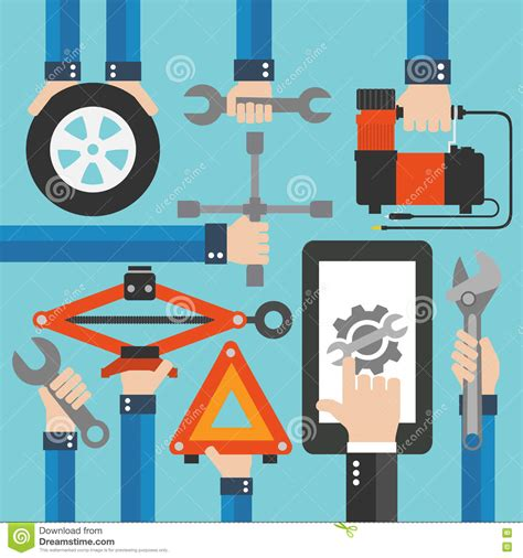 design my dream truck online flat car tire repair kit stock image cartoondealer com