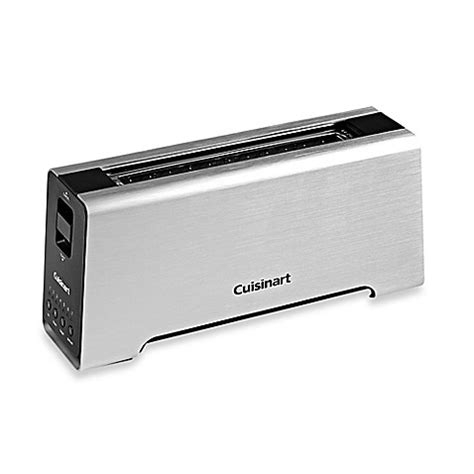 bed bath and beyond toasters cuisinart 174 2 slice long slot motorized toaster bed bath