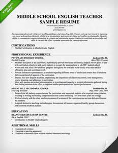 middle school resume template cover letter template resume genius
