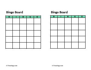 get to you bingo card template big blank bingo card freeology