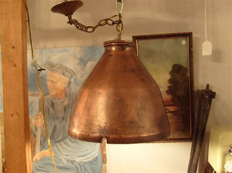 Handmade Copper Lighting - handmade copper pendant light allan s creations