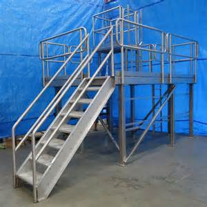 fabricated metal stairs custom industrial stairs access solutions