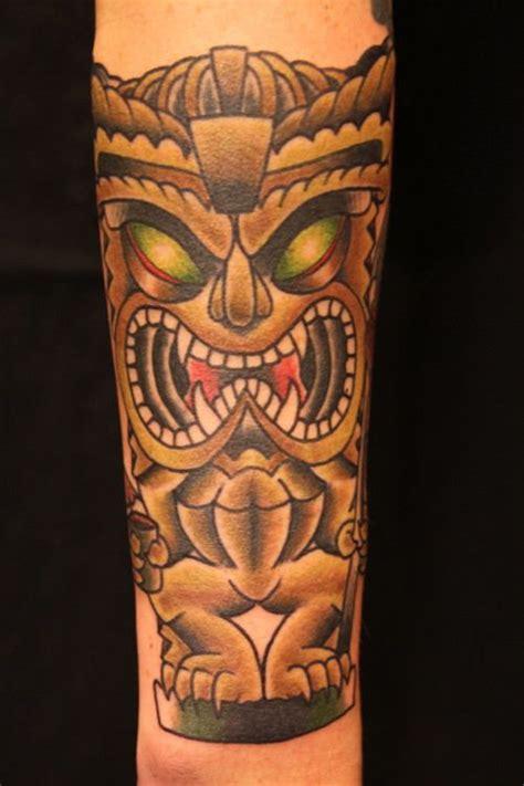 polynesian tiki tattoo designs tiki tiki by jereamie hamilton tiki
