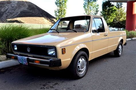 volkswagen rabbit truck interior buy used 1980 volkswagen rabbit quot caddy quot gasoline 4