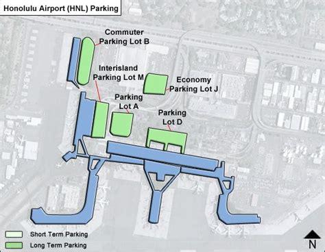 honolulu airport terminal map honolulu airport parking hnl airport term parking