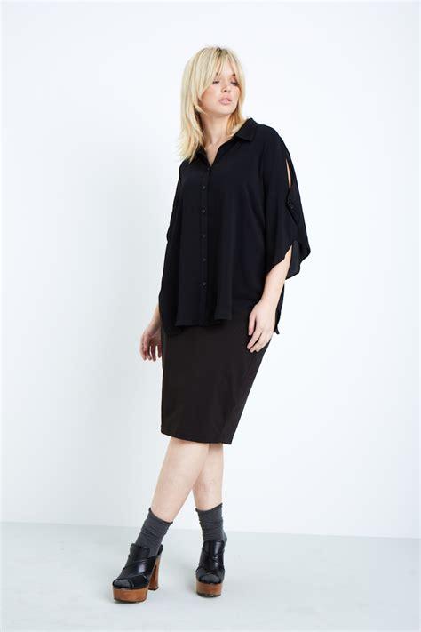 Cape Sleeve Blouse shegul cape sleeve blouse coverstory