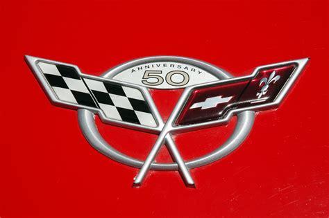 corvette logo history chevrolet corvette logo