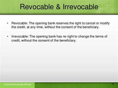 Beneficiary Letter Of Credit Letter Of Credit