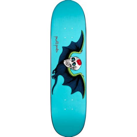 The Skull Bat Skateboard Intl powell peralta bat skull turquoise skateboard deck 8 25