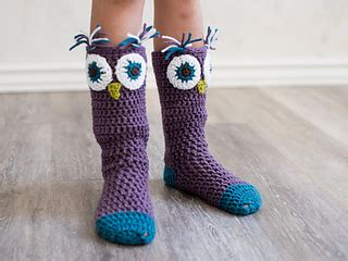 pattern for owl socks ravelry hooded owl poncho and socks pattern by mj s off