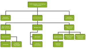 Staff Organogram Template by Organogram