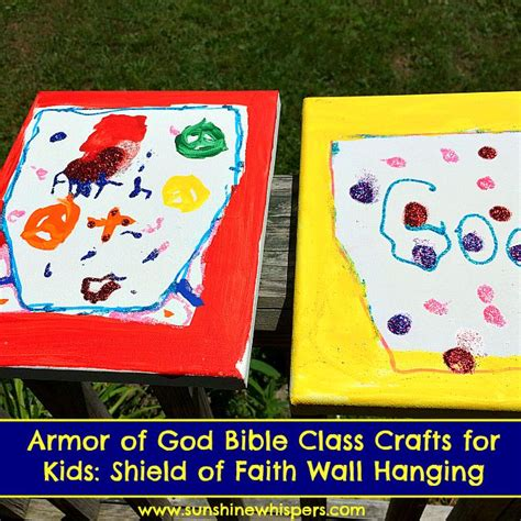 armor of god crafts for armor of god bible class crafts for shield of faith