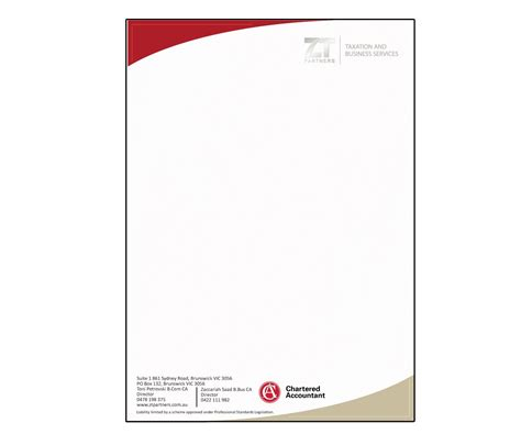 Business Letterhead Requirements Australia 55 professional letterhead designs for a business in