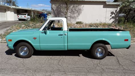 chevy truck car all american classic cars 1968 chevrolet c10 pickup truck