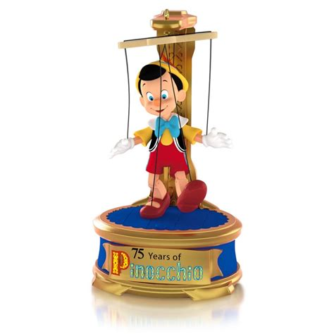 Hallmark Ornaments - 2015 disney pinocchio 75th anniversary hallmark keepsake