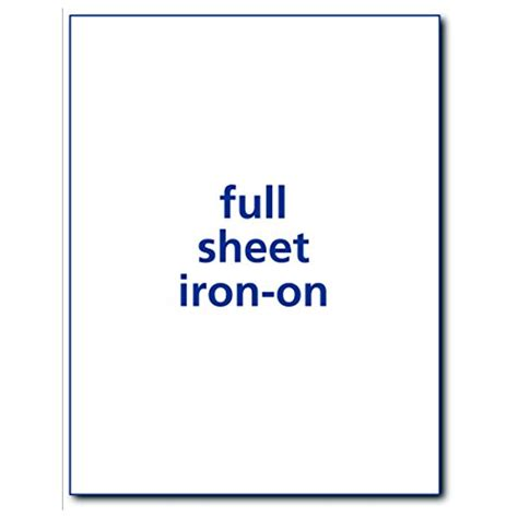 avery iron on paper t shirt fabric bag transfer paper inkjet printer 8 5x11