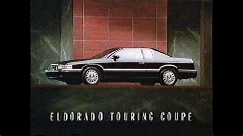 1992 cadillac eldorado touring coupe cadillac eldorado touring coupe is here commercial 1992