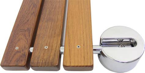 modern teak shower bench clevr 20 quot teak modern folding shower seat bench dark wood