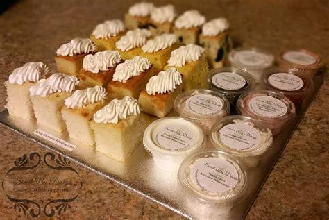 wedding tasting filled weekend sweet by design