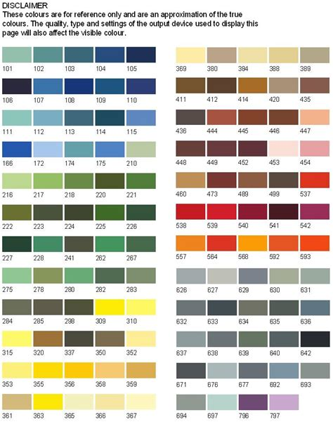 Endura Paint Color Chart Dirtytattoswnload