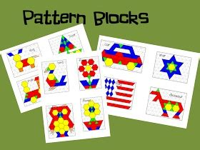mrs wills kindergarten pattern blocks 17 best images about math stations ideas from book study