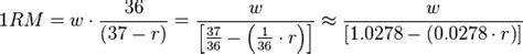 calculadora de repeticin mxima rms en crossfit calculadora de repetici 243 n m 225 xima rm s en crossfit