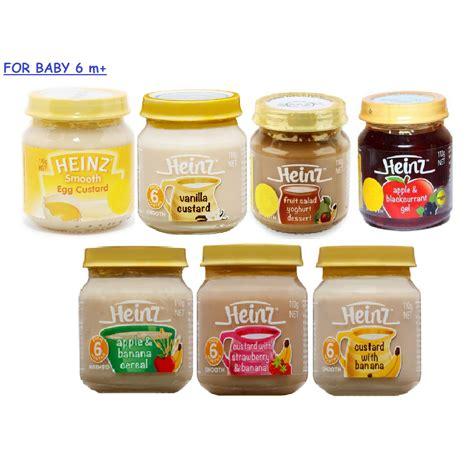Makanan Bubur Bayi Heinz heinz baby food from 4m 110gr elevenia