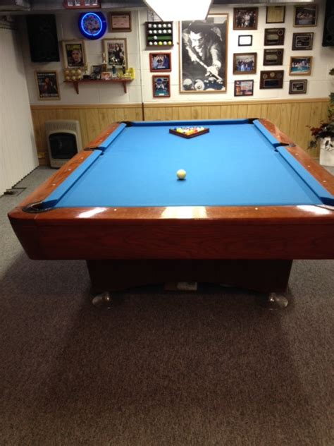 9 ft professional pool table for sale