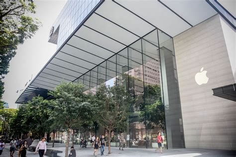apple singapore check out apple s singapore store its first in southeast