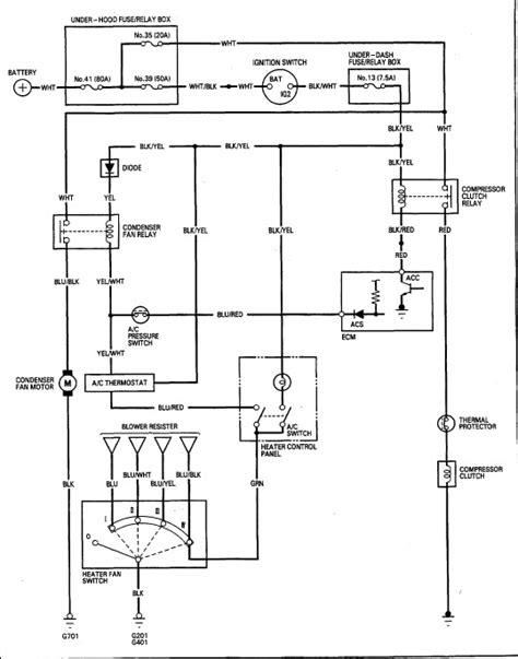 ac wiring issue  hondacivicforumcom