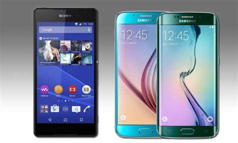 Samsung S6 Vs Sony Z4 galaxy s6 vs xperia z4 smartphonevergleich samsung sony connect
