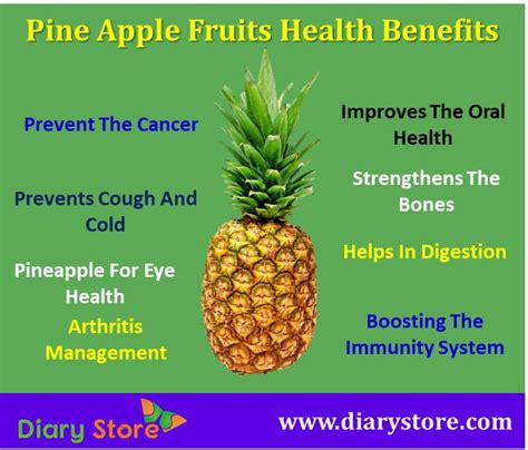 pineapple fruit nutrition facts health benefits