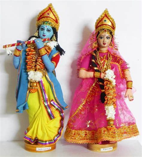 design a doll india radha krishna