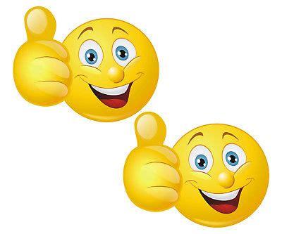 Smiley Bilder Aufkleber by 3 St 220 Ck Autoaufkleber Smiley Smilie Sticker Smile