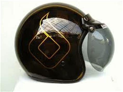 Helm Bogo Model Setengah Daftar Harga Helm Bogo Kulit Asli Sni Retro Vespa Model