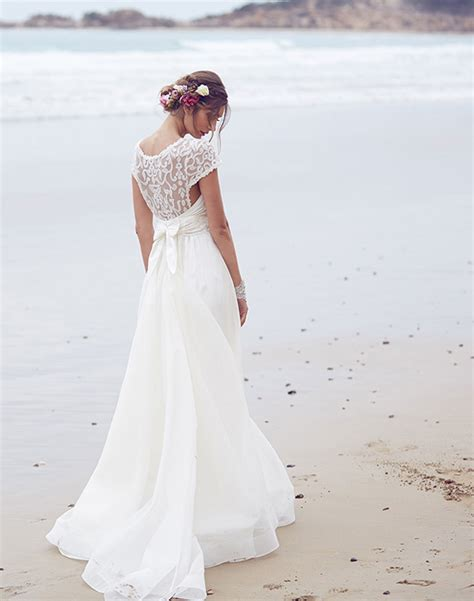 anna cbell inspired beach wedding dresses sleeves 2015 vintage anna cbell 2015 spirits collection belle the magazine