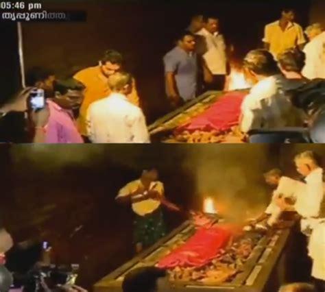 malayalam actress kalpana dead body actress kalpana s funeral celebs pay homage to late
