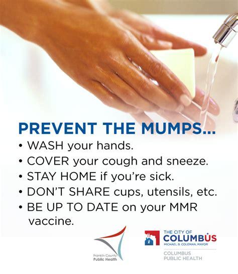 Mumps Prevention Materials Mumps Cdc