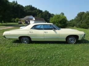 chevrolet impala hardtop 1967 black for sale xfgiven vin