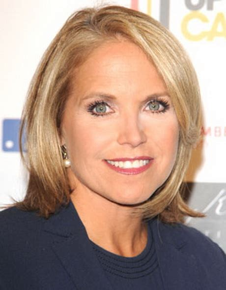 hairstyles of katie couric katie couric haircut