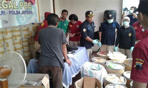 Pil Penggugur Uh 5 Bulan Gerebek Pabrik Pil Pcc Di Semarang Bnn Lakukan