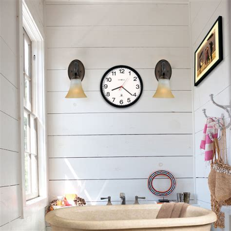 bathroom clock ideas silver bathroom clock brightpulse us