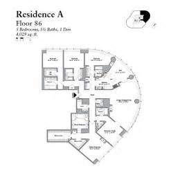 trump tower chicago penthouse floor plans condos in chicago one bedroom residential condos