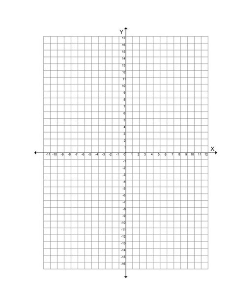 math paper template blank graph with numbers up to 20 world of printable and