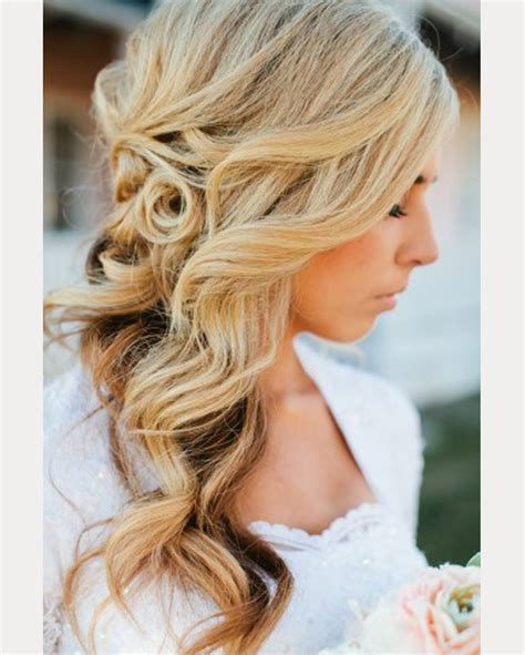 Wedding Hairstyles On The Side For Hair by Side Swept Wedding Hairstyles To Inspire Mon Cheri Bridals