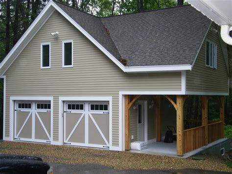 Loft Garage by Hamilton Custom Built Garage From Gonyea Construction